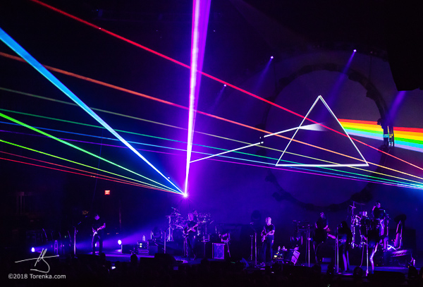 Brit Floyd laser show. Photo by Toby Karlquist - torenka.com