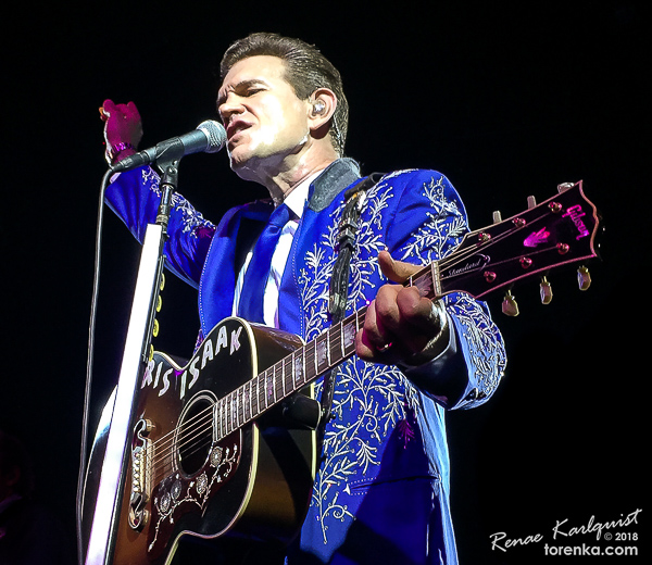 Chris Isaak.  Photo by Renae Karlquist - torenka.com