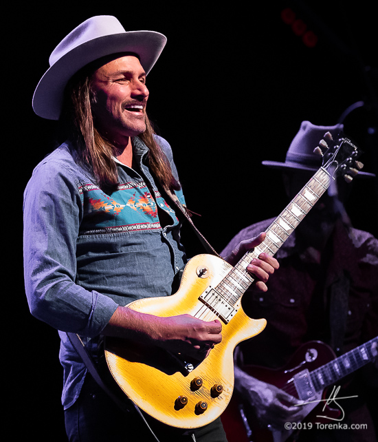 Duane Betts performing with Allman Betts Band at the Chandler Center for the Arts on May 19, 2019