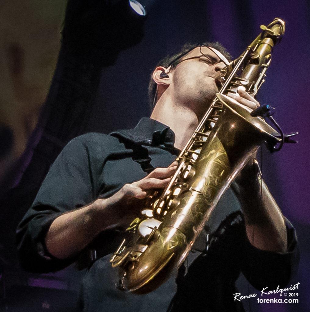 Ryan Saranich - Brit Floyd.  Photo by Renae Karlquist